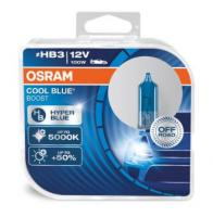 Автолампа OSRAM HB3 12V 100W COOL BLUE BOOST – OFF-ROAD -  5000К  (2шт)