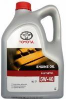 Масло моторное Toyota 5w40, синтетическое, 5 л