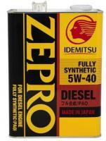 Моторное масло IDEMITSU ZEPRO DIESEL  F-S 5W40 4л