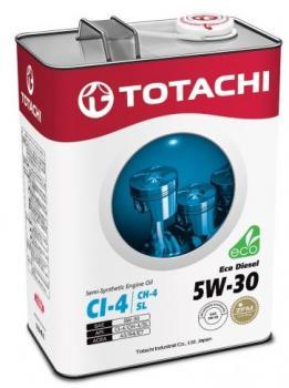 Моторное масло TOTACHI Eco  Diesel  5W-30 Semi-Synthetic  CI-4/CH-4/SL  , 4л