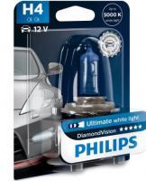 Автолампа PHILIPS H4  Diamond Vision 5000K (блистер)