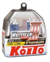 Лампа высокотемпературная Koito Whitebeam Premium H4