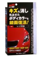 Полироль для кузова цветовосстанавливающий Soft99 Color Evolution Red для красных а/м, 100 мл