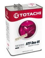 Жидкость для АКПП TOTACHI ATF DEXRON VI синт. 4л