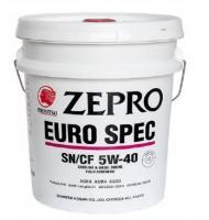 Моторное масло IDEMITSU Zepro EURO SPEC 5W-40, SN/CF, 20 л