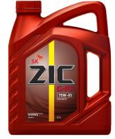 Масло трансмиссионное ZIC 75w85  G-FF GL-4, 4л