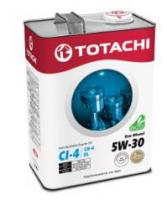 Моторное масло TOTACHI Eco  Diesel  Semi-Synthetic  CI-4/CH-4/SL  5W-30, 6л