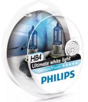 АвтолампаPHILIPS  HB4 Diamond Vision (2шт) 5000K