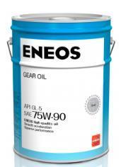 Смазочное масло ENEOS GEAR 75W-90 GL-5, 20 л