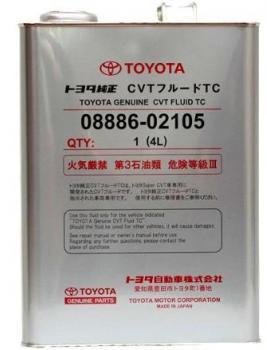 Жидкость для вариаторов Toyota CVT Fluid TC 4л