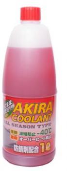 Антифриз  Akira Coolant -40 красный 1л