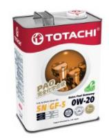 Моторное масло TOTACHI Extra Fuel  Fully Synthetic  SN  0W20, 4л