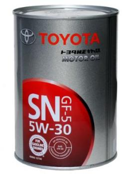 Моторное масло Toyota SN 5W-30, 1л
