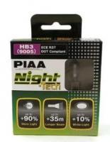 Лампы PIAA BALB NIGHT TECH 3600K (HВ3) 2шт