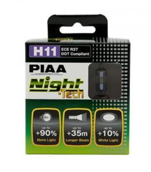 Лампы PIAA BALB NIGHT TECH 3600K (H11) 2шт