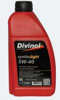 Моторное масло DIVINOL Syntholight 5w40  1 л