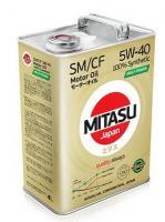 Моторное масло MITASU MOLY-TRiMER 5W40 4л