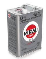 Моторное масло MITASU SUPER DIESEL CI-4 5W30 4л