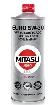 Моторное масло MITASU EURO PAO LL III OIL 5W-30 1л