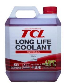 АНТИФРИЗ TCL красный LLC -40C 4л
