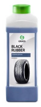 """Чернитель шин """"GRASS"""" Black rubber (1 л)"""