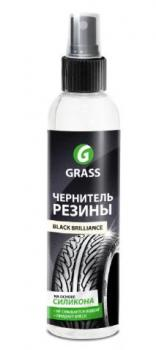 """Чернитель шин """"GRASS"""" Black Brillians (250 мл)"""
