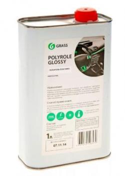 """Полироль-очиститель пластика """"GRASS"""" Polyrole Glossy (1 л)"""