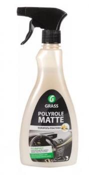 """Полироль панели """"GRASS"""" Polyrol Matte vanilla (500 мл) (триггер)"""