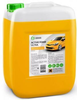 """Автошампунь для бесконтактной мойки """"GRASS"""" Active Foam Ultra (20 кг) (пена)"""