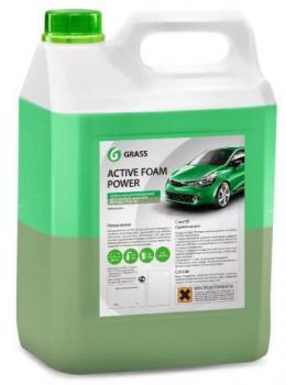 """Автошампунь для бесконтактной мойки """"GRASS"""" Active Foam Power (6 кг) (пена)"""