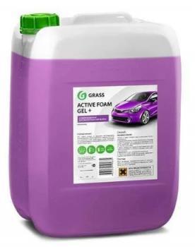 """Автошампунь для бесконтактной мойки """"GRASS"""" Active Foam Gel+ (24 кг) (пена)"""