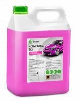 """Автошампунь для бесконтактной мойки """"GRASS"""" Active Foam Gel (6 кг) (пена)"""