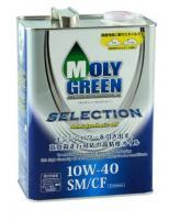 Моторное масло MOLY GREEN SELECTION SM/CF 10W-40 (4лl) п/синт.