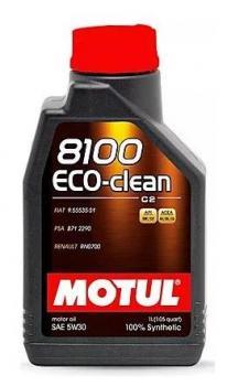Моторное масло MOTUL 8100 Eco-clean 5W30, 1л