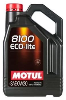 Моторное масло MOTUL 8100 Eco Lite 0w 20, 4л