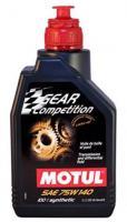 Масло трансмиссионное MOTUL Gear FF Comp GL 5 75W 140 1л