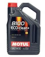 Моторное масло MOTUL 8100 Eco Clean PLUS + 5w 30, 5л