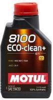Моторное масло MOTUL  8100 Eco Clean PLUS + 5w 30, 1л