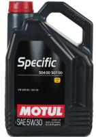 Моторное масло MOTUL  Specific VW 504.00/507.00 5W 30, 5л