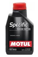 Моторное масло MOTUL Specific VW 504.00/507.00 5W 30, 1л