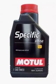 Моторное масло MOTUL  Specific MB 229.52 5W 30, 1л