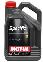 Моторное масло MOTUL Specific DEXOS2 5W 30, 5л