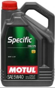 Моторное масло MOTUL Specific CNG/LPG 5W 40, 5л