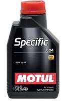 Моторное масло MOTUL Specific BMW LL 04 5W 40, 1л