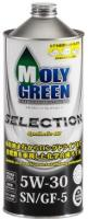 Моторное масло MOLY GREEN SELECTION 5W30 SN/GF5 (1л)