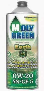 Моторное масло MOLY GREEN EARTH SN/GF5 0W20 (1л)