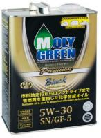 Моторное масло MOLY GREEN BLACK SN/GF-5 5W30 (4л)