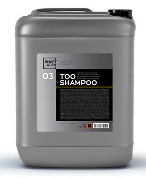 TOO SHAMPOO 03 Высокопенный ручной шампунь без фосфата и растворителей 5л