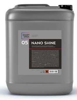 NANO SHINE 05 - нано-консервант для кузова автомобиля с глубоким блеском, 5л