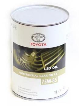 Масло трансмиссионное Toyota GL-5 75W85 LX LSD 1л
